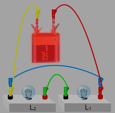 دروس ميدان الظواهر الكهربائية  حسب منهاج الجيل الثاني 2016   LampeSerieCC3